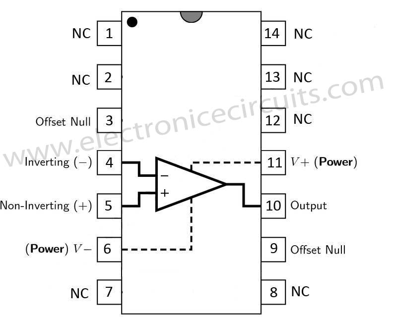 741 Operational amplifier | Electronic Circuits
