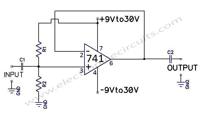 741 operational amplifier electronic circuits part 3