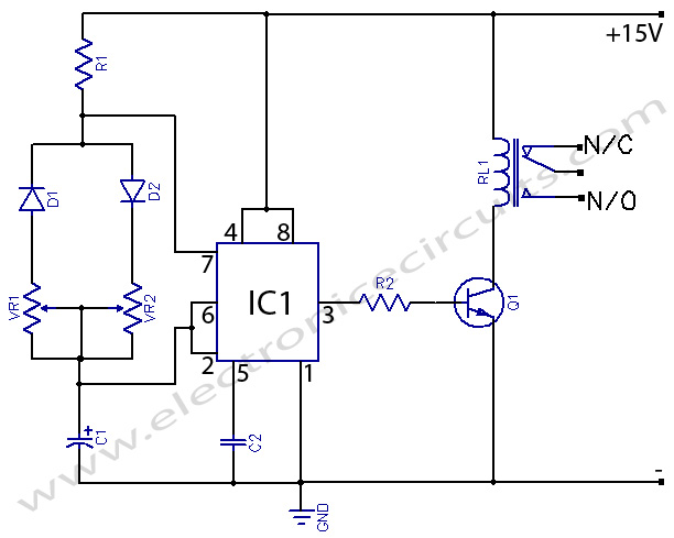 timer with on off delay circuit using ne 555 time delay relay circuit diagram readingrat net dayton off delay timer wiring diagram at crackthecode.co