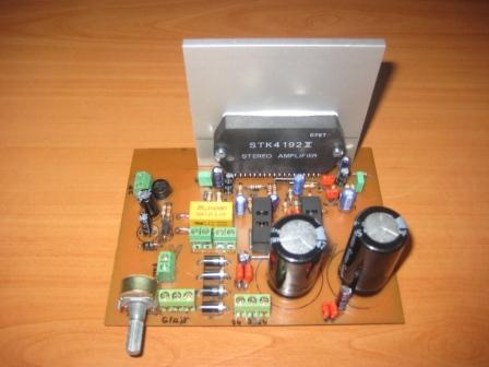STK4192 Amplifier