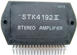 STK4192II stereo amplifier ic