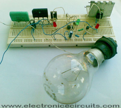 5 WAY AC FLASHER TEST CIRCUIT