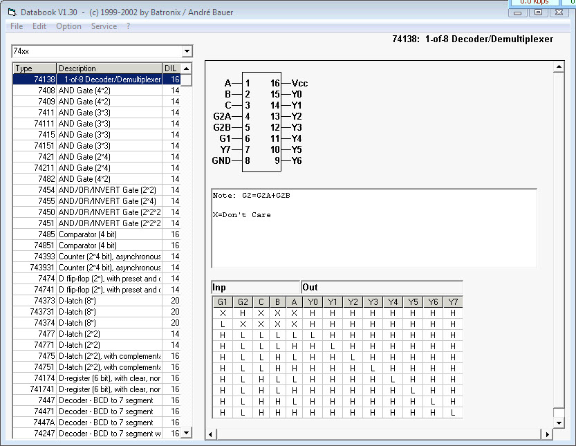 IC Databook Software