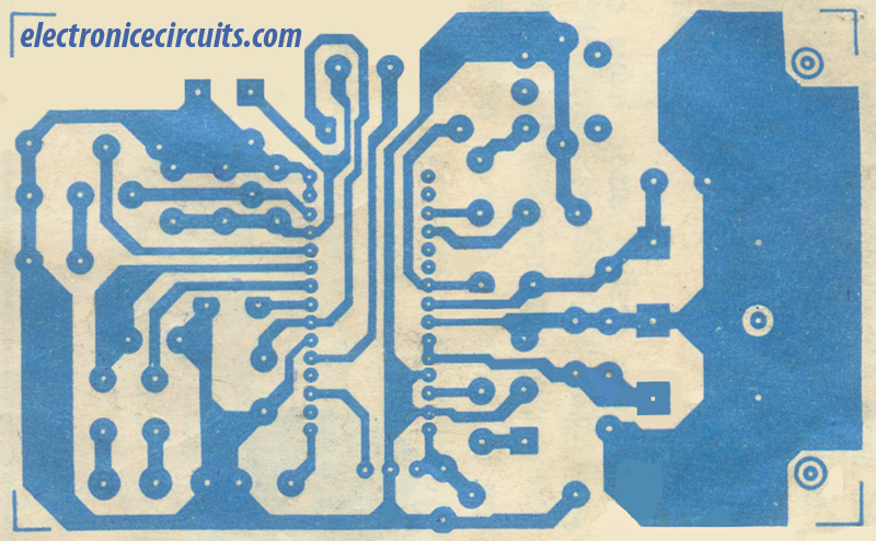 cxa 1019 PCB Design, pattern diagram