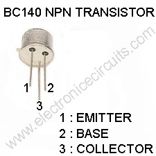 BC140 transistor pin Configuration-pinout-bc-140-npn
