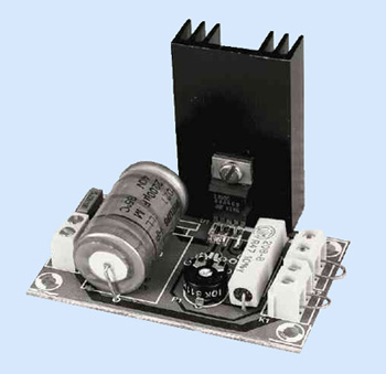 L200 Power supply regulator with sense lines