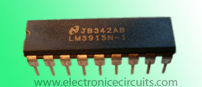 LM3915 Dot Bar Display Driver IC