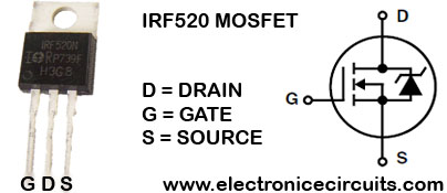 IRF520 N Channel Power MOSFET