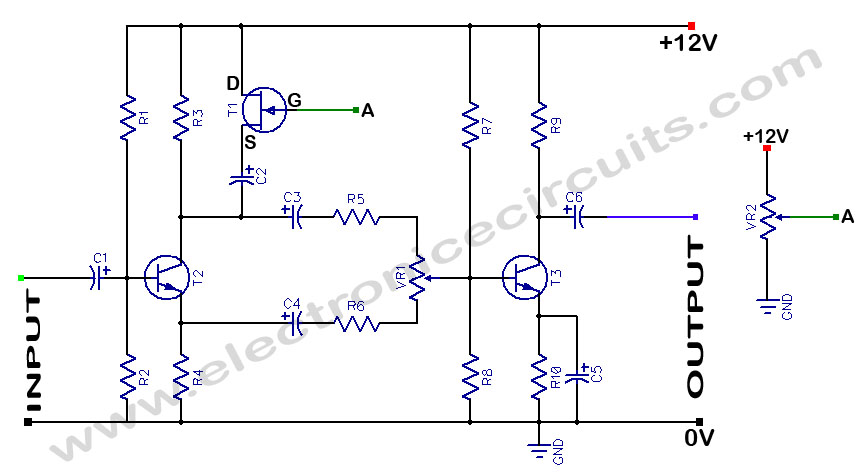 Voltage Controlled Volume circuit