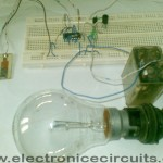 4011 Touch Control Switch with relay and 230v light