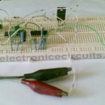 Ten Times 10X Frequency Multiplier circuit 4046 7490 555