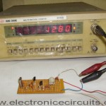 Crystal Signal Source Frequency Measuring