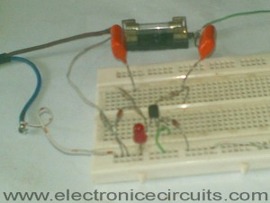 LED Blown AC Fuse Indicator Circuit