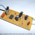 Automatic Gain Control PreAmplifier Circuit