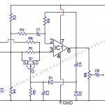 Automatic Gain Control Pre Amplifier Circuit Diagram