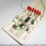 led knight rider circuit diagram