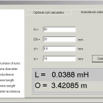 Coil Maestro COIL Inductance Calculator Software