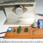 12V DC Lamp Dimmer Circuit Using 555 Timer IC