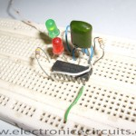 Two LED Flasher Circuit Diagram