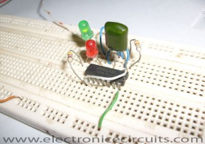 2 Two LED CMOS Flasher Circuit