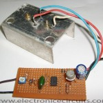 Light Dimmer Circuit using ne555 2n2955 bc140
