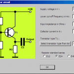 transistor common collector circuits design