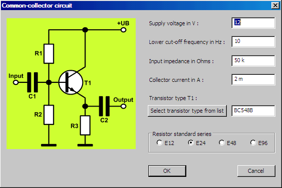 Transistor Amplifier Circuit Designer Software