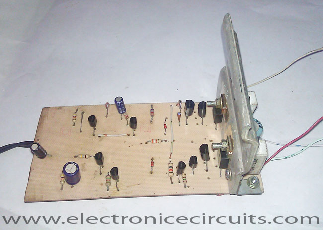 Class AB Transistor Power Amplifier Circuit