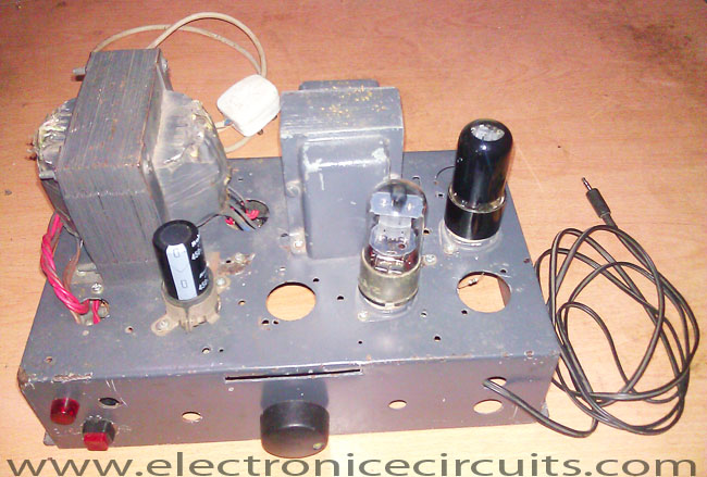 6V6 6J5 Class A Vacuum Tube (Valve) Amplifier Circuit | Electronic