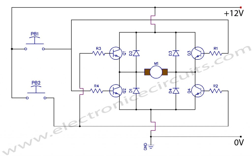 DC Motor Control Circuit Diagram on forward reverse switch wiring diagram