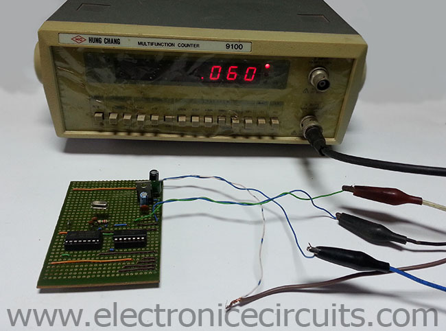 Stable 60 Hz Frequency Signal Generator