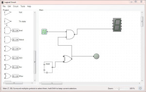 Logic Circuit Designing and Simulating Digital Logical Circuits Software