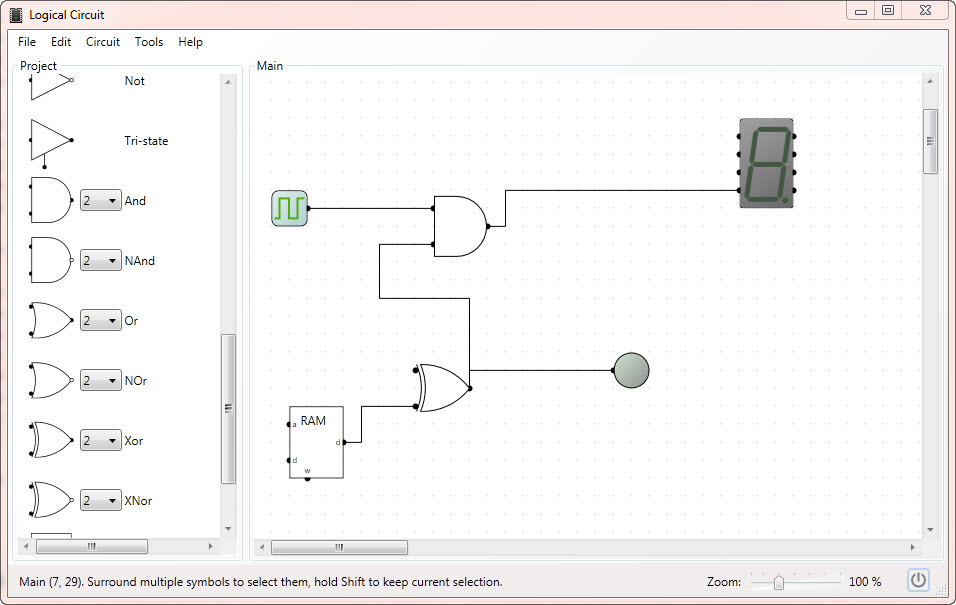 Digital Logic Circuit Designing Simulating Software | Electronic ...